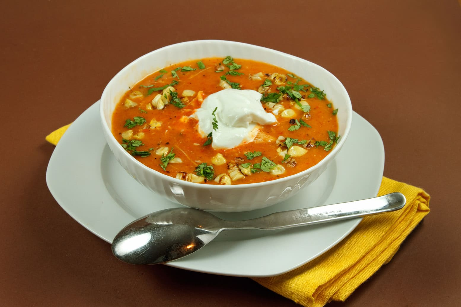 Restaurants started featuring soups and became well known for their ...