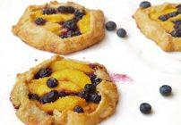 Blueberry Peach Crostata