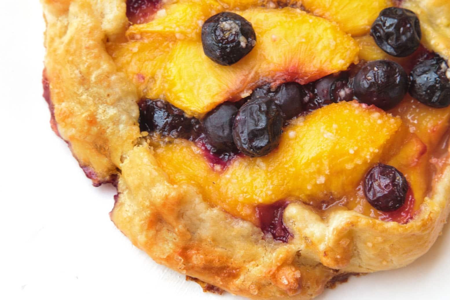 Blueberry Peach Crostata 5