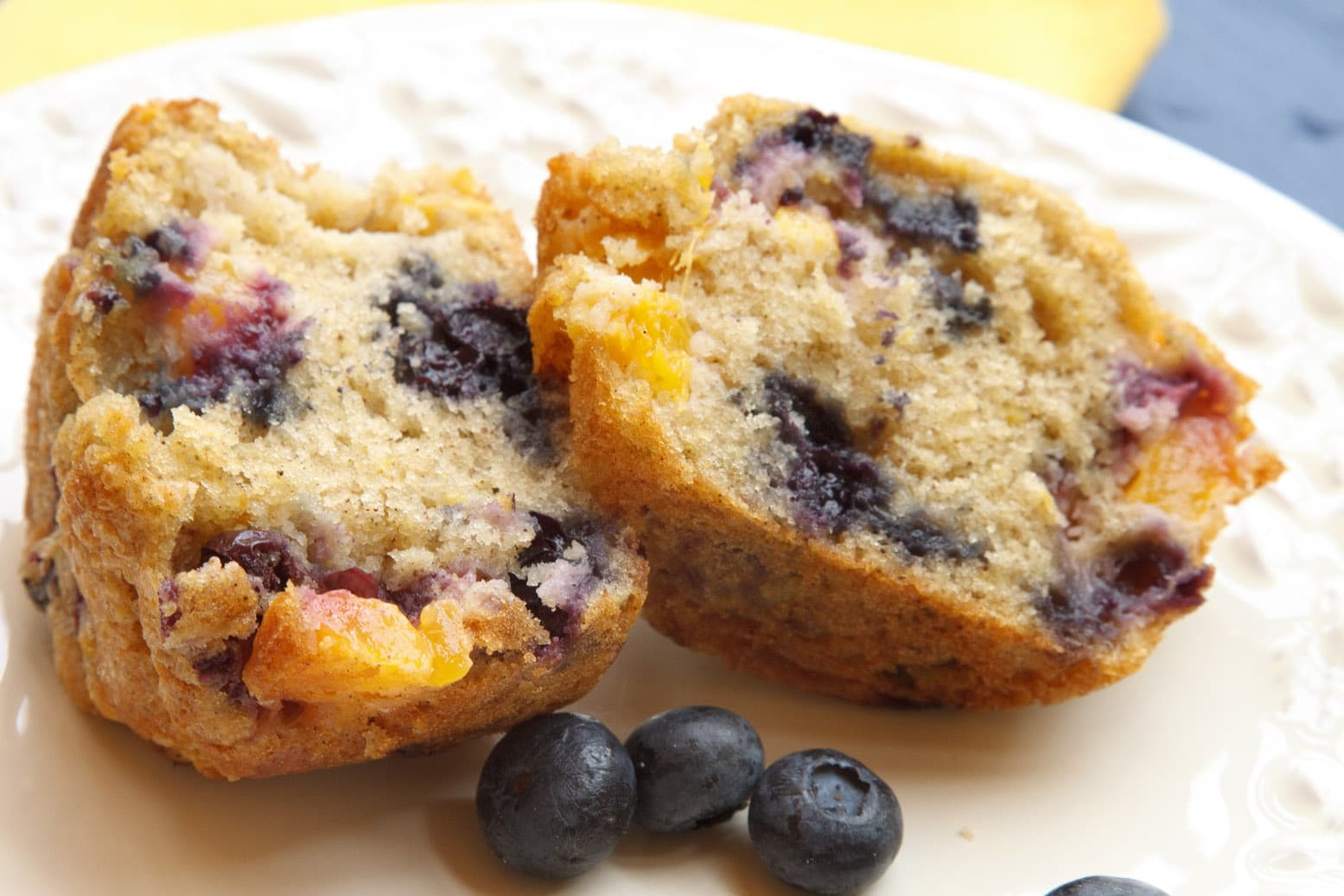 Nectarine Blueberry Muffin 2