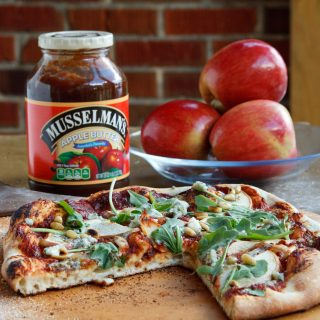 A Taste of Fall with my Apple Butter Pizza