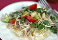 Bean Sprout Salad with The Orgasmic Chef