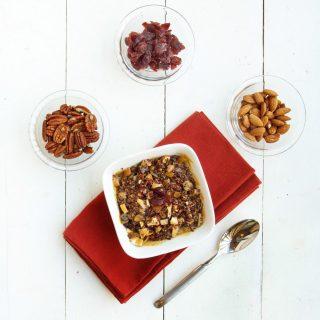 Dulce de Leche Quinoa Breakfast Cereal