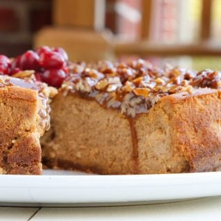 Pumpkin Praline Cheesecake Recipe for your Holiday Table