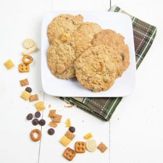 Sweet and Salty Chex Mix Cookie Recipe