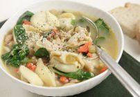 Chicken Tortellini Soup  #We Care