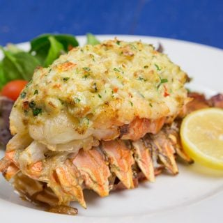 Lobster Stuffed with Crab Imperial : The perfect date night dinner