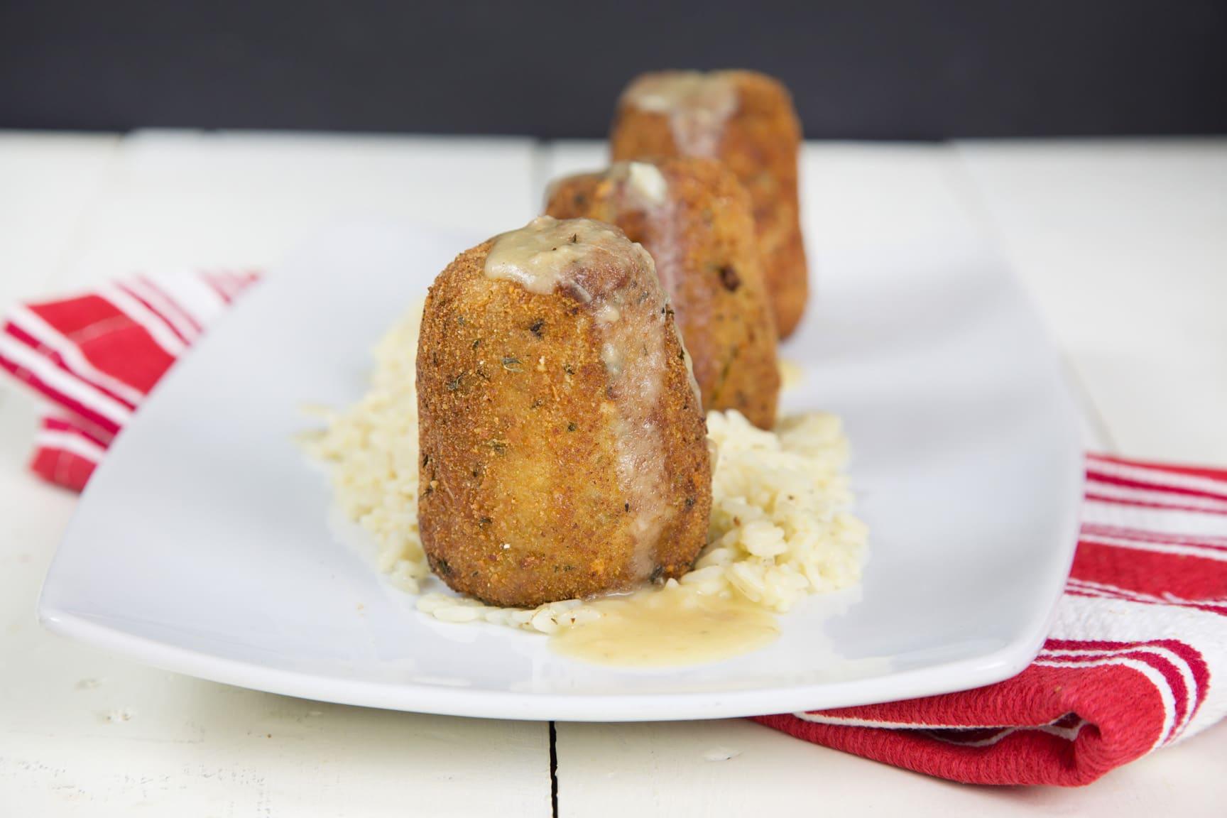 Old Fashioned Turkey Croquettes Recipe Chef Dennis
