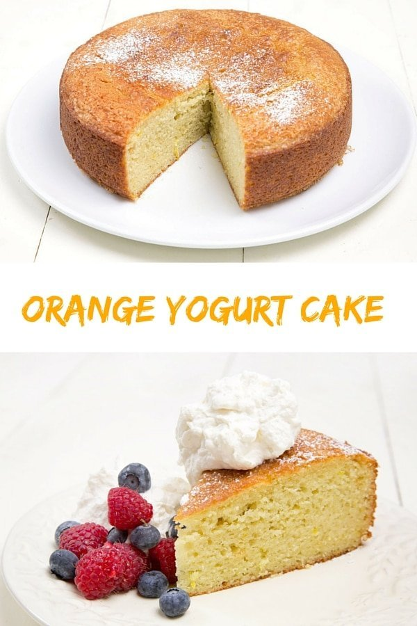Orange Yogurt Cake