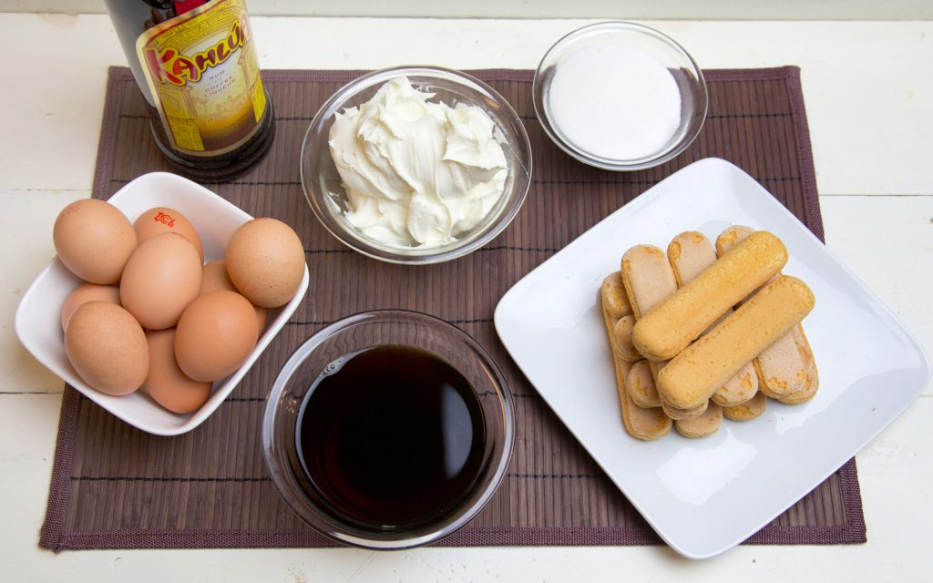 ingredients to make tiramisu