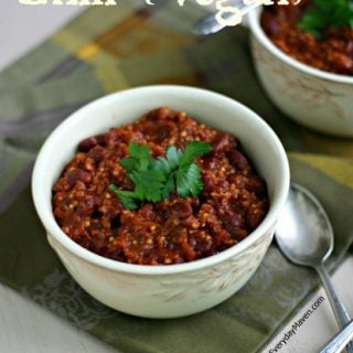Red Bean and Millet Vegan Chili Recipe