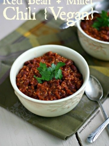 Vegan Red Bean Chili