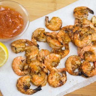 Little Plates – Grilled Shrimp, Stuffed Mushrooms and Bruschetta