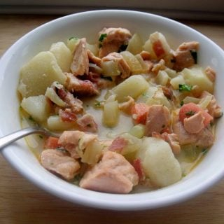 Smoky Salmon Chowder Recipe for the Winter Season