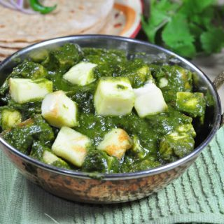 Palak Paneer with Zesty South Indian Kitchen