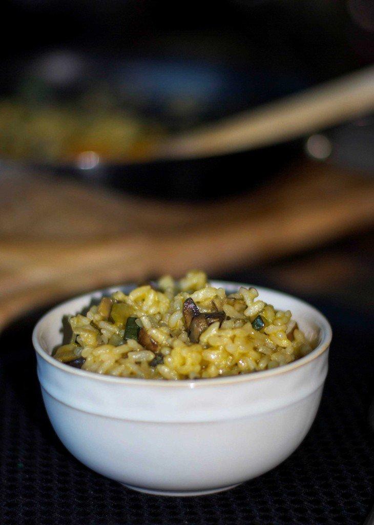 Portobello Mushroom & Sage Risotto