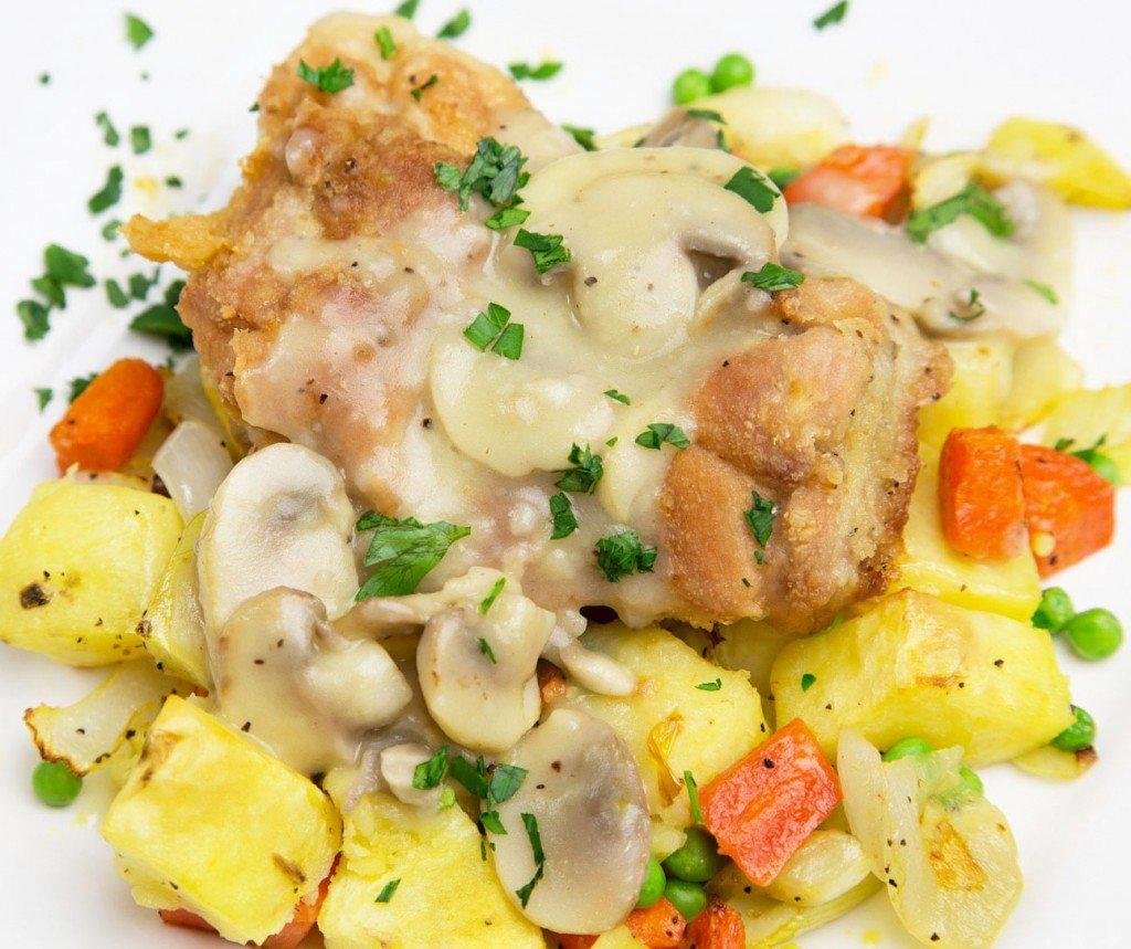 deconstucted Chicken Stew 2