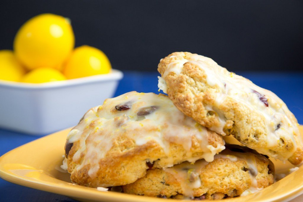 pistachio cranberry Meyer Lemon scone 3