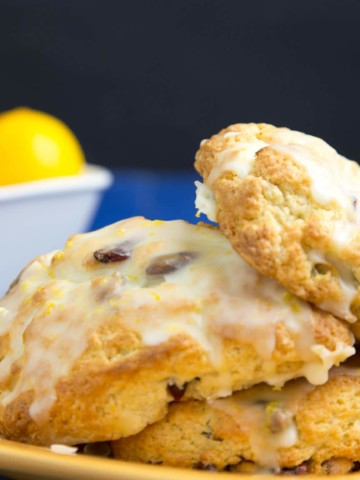 meyer lemon scone