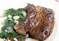 Balsamic Glazed Pork Chop 4