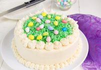 My Coconut Easter Cake Recipe Experience