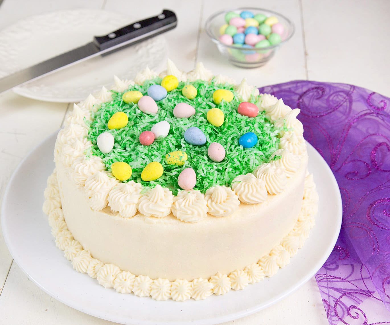 My Coconut Easter Cake for your holiday celebration