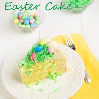 Coconut Easter Cake, King Arthur