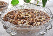 Burbara -Middle Eastern Wheat Berry Porridge with dish-away