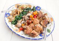Chicken Florentine – Deconstructed