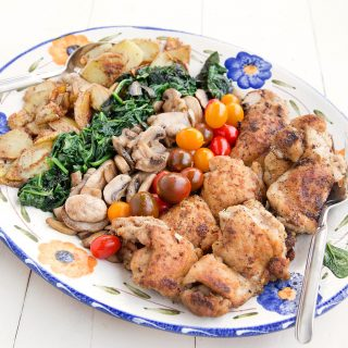 Deconstructed Chicken Florentine Recipe for your dinner table