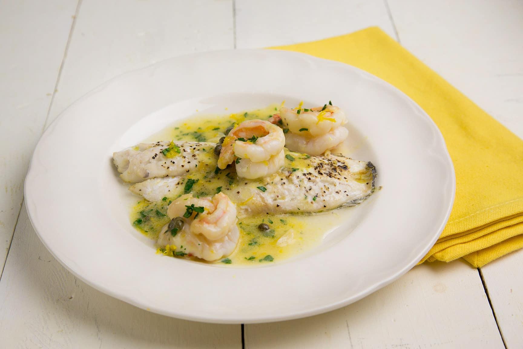 sea sea bass and confetti sea bass with lemon sauce harrogate uk sea ...
