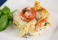 Spinach and Tomato Lasagna