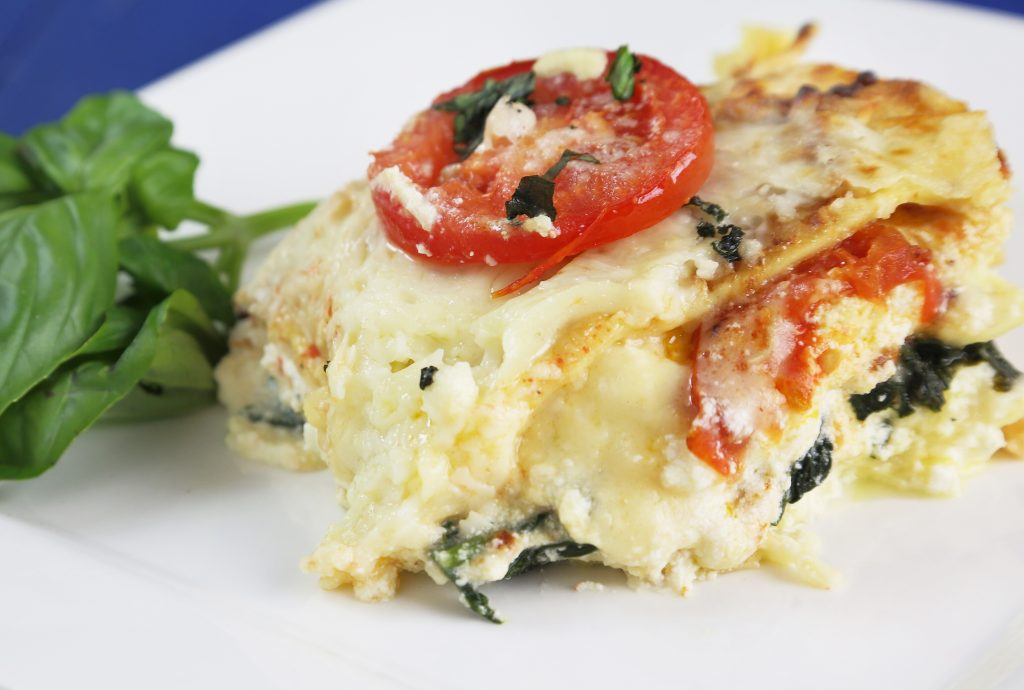 Spinach and Tomato Lasagna 5