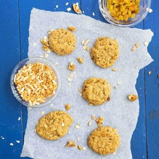 Low Sugar Oatmeal Cookies Recipe