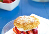 Pinterest image for strawberry shortcake