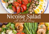 pinterest image for nicoise salad