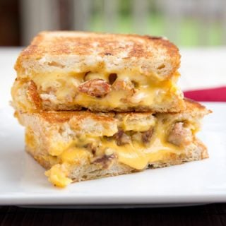Grilled Sweet Sausage – Grilled Cheese Sandwich