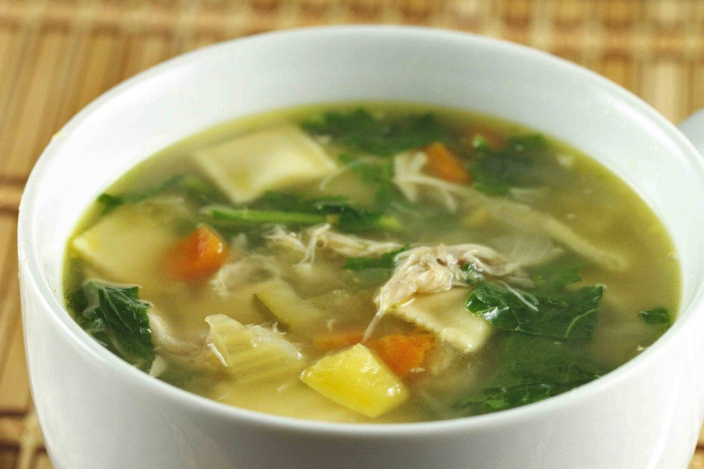 ... soup hearty spinach and sausage soup chicken sausage ravioli soup