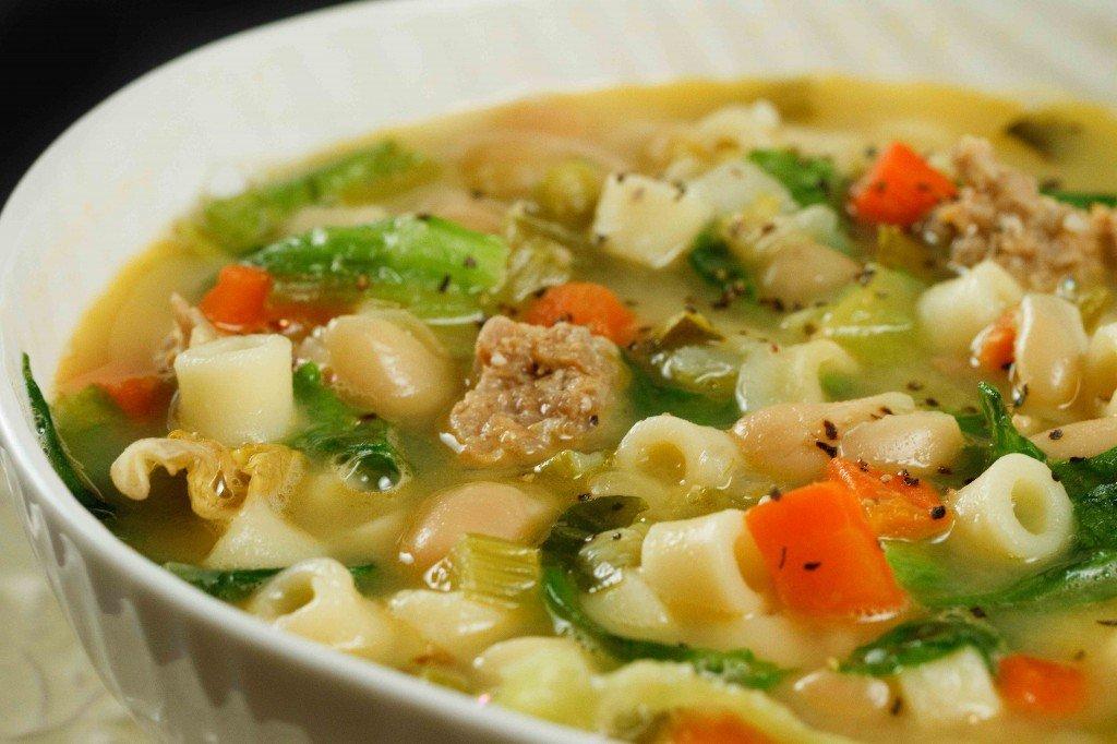 sausage-minestra