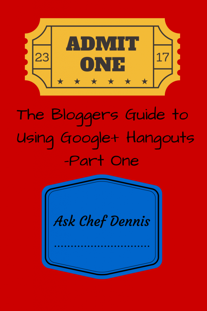 The Bloggers Guide to Using Google+ Hangouts - Part one