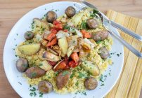 Root Vegetable Paella