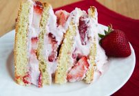 Strawberries and Cream Cake 5