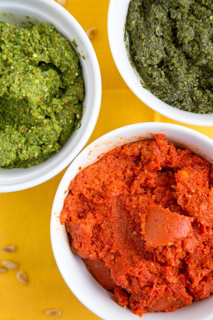 Pesto 3 ways