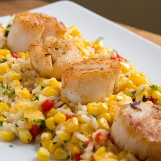 How to Make Pan Seared Scallops with a Summer Corn Medley – Around the Kitchen Table