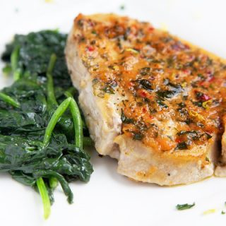 Ginger Garlic Pan Roasted Swordfish – Around the Kitchen Table