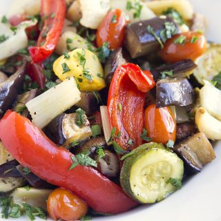 Ratatouille Two Ways – Around the Kitchen Table
