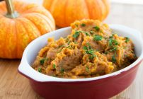 Mashed Apple Butter Sweet Potatoes 2