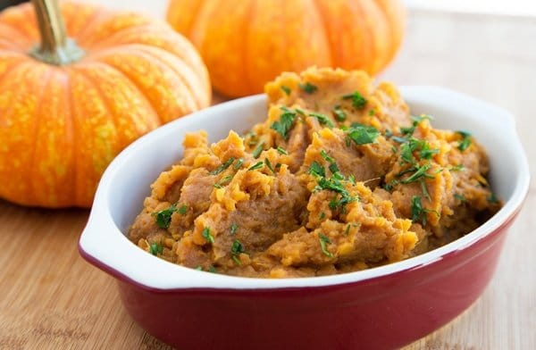 Mashed Apple Butter Sweet Potatoes , Thanksgiving Recipes