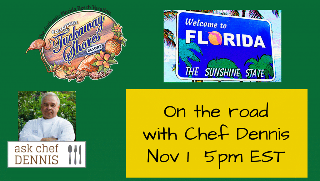 on the road with Chef Dennis