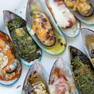 New Zealand Mussels Served 5 Ways – Around the Kitchen Table